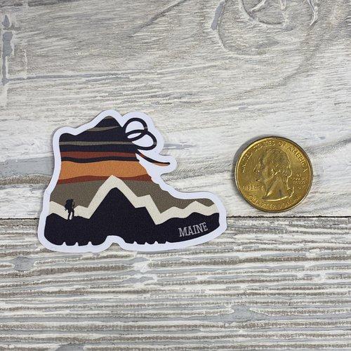Bumwraps STR Hike-Mini Sticker