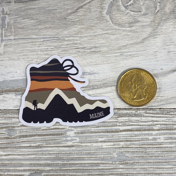 Bumwraps STR Hike-Mini Sticker