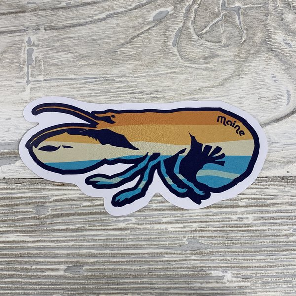 Bumwraps Lobsta-Sticker