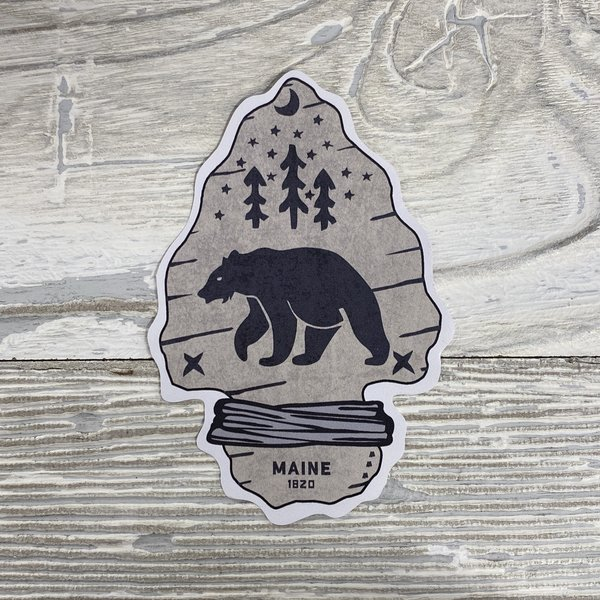Bumwraps Arrowhead-Sticker