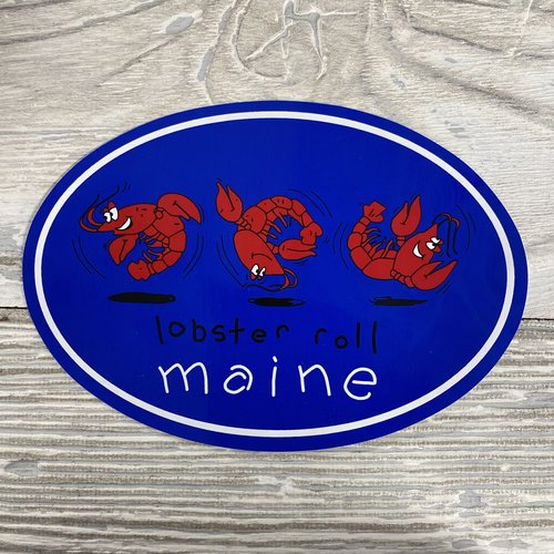 Maine Scene 63-Sticker-Lobster Roll