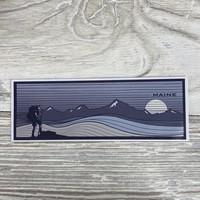 Bumwraps Walk the Line-Sticker