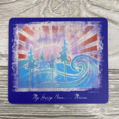 Blue 84 Sticker- Sun Struck Pines