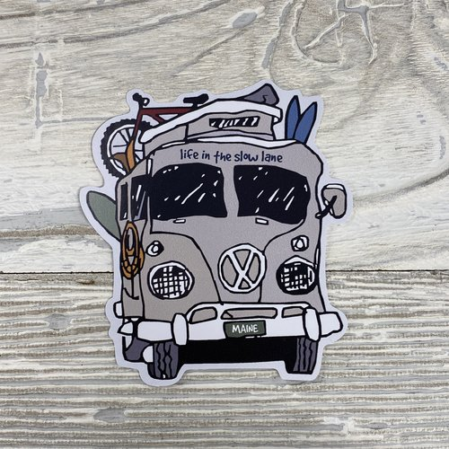 Bumwraps Road Trip-Sticker