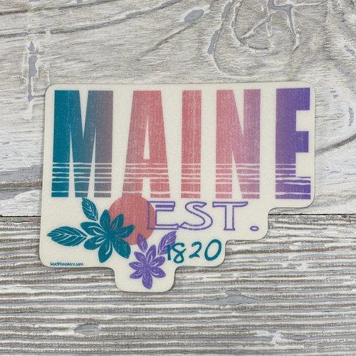 Blue 84 Sticker-Harnessing Surf
