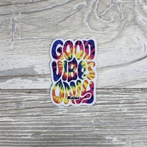 Bumwraps Good Vibes-Mini Sticker