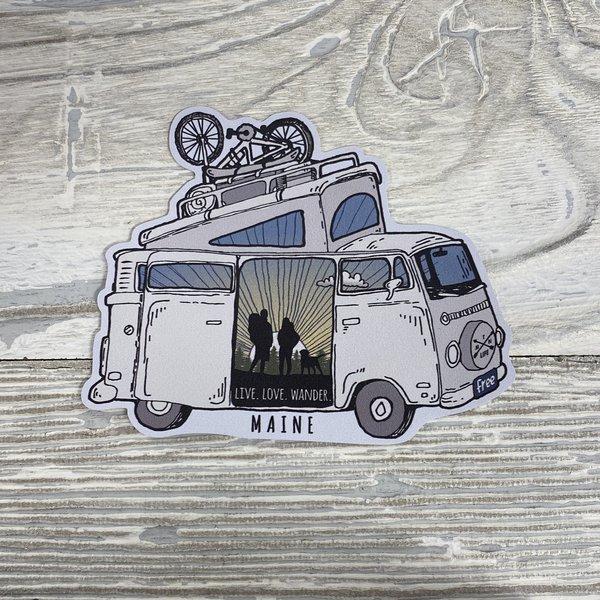 Bumwraps Mtn Van Sticker