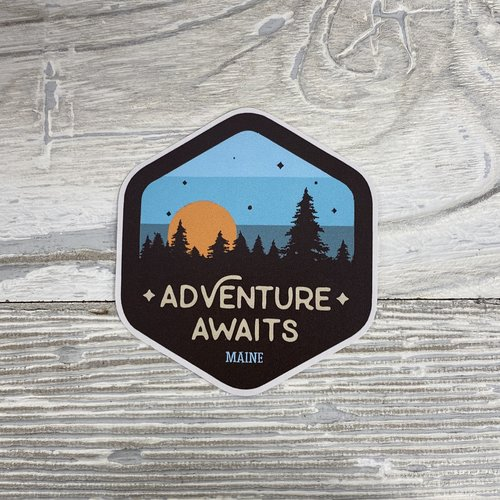 Bumwraps Adventure Awaits-Sticker
