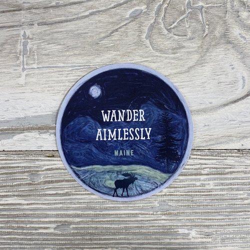 Bumwraps Wander Sticker