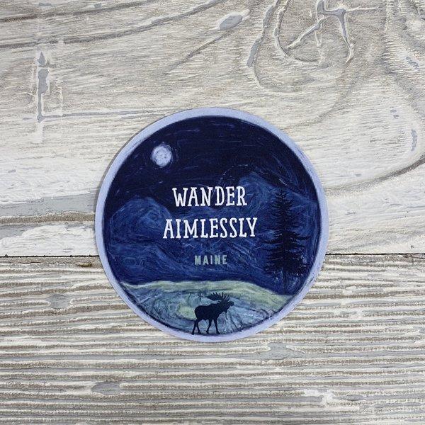 Bumwraps Wander-Sticker