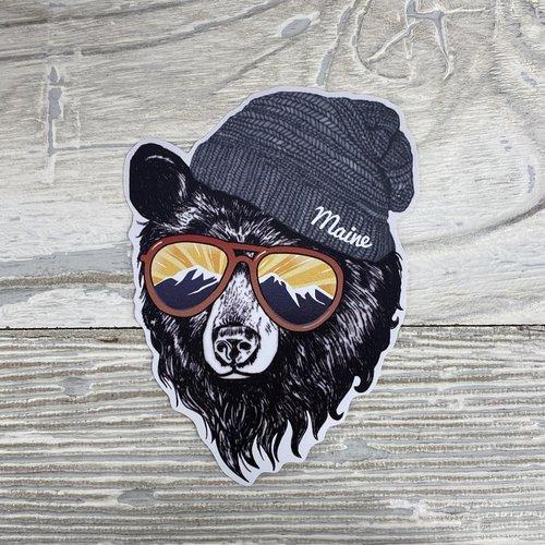Bumwraps Mountain Bear Sticker