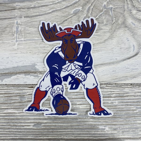 Sticker-Minute Moose