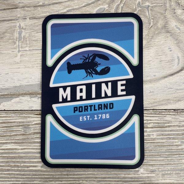 Lantern Press 85120-Sticker-Lobster Badge