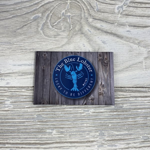 Entertainya The Blue Lobster Wood Print Magnet