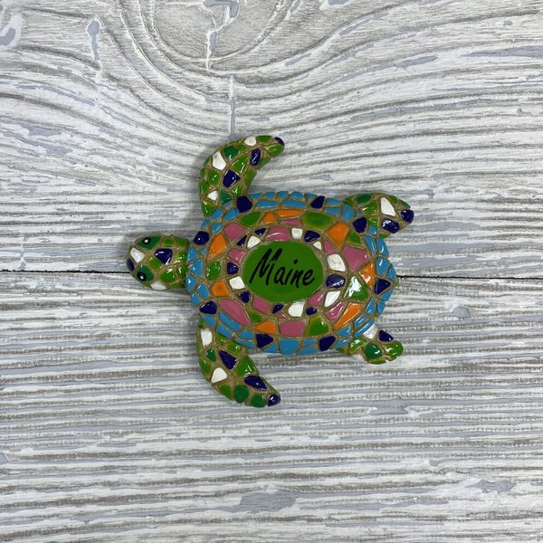 Get A Gadget Mosaic Turtle Magnet