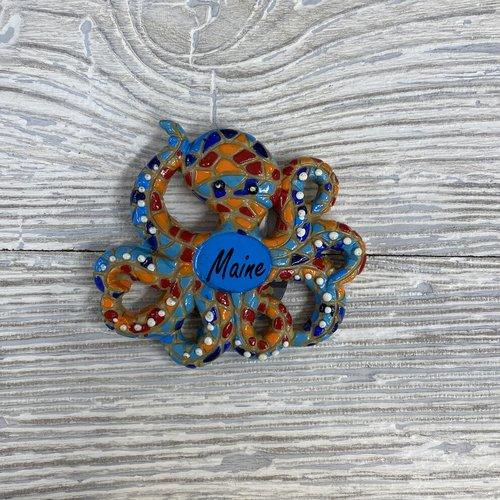 Get A Gadget Mosaic Octopus Magnet