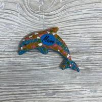 Get A Gadget Mosaic Magnet Dolphin