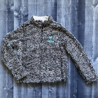 MV The Blue Lobster 1/4 Zip Sherpa- 3 Different COLORS!