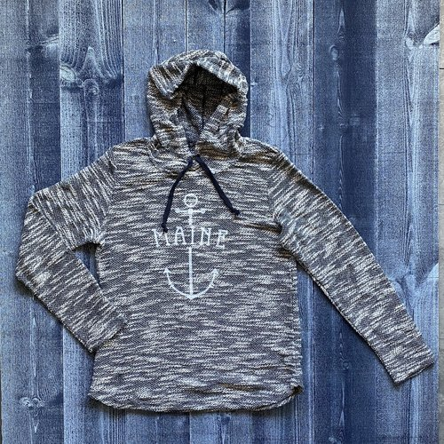 Artisans Maine Cali Anchor Ladies Hoodie