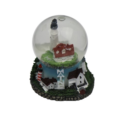 Chesapeake Bay Lighthouses of Maine Snowglobe