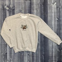 Lucky Dog Screenprinting Chickadee Crewneck Sweatshirt