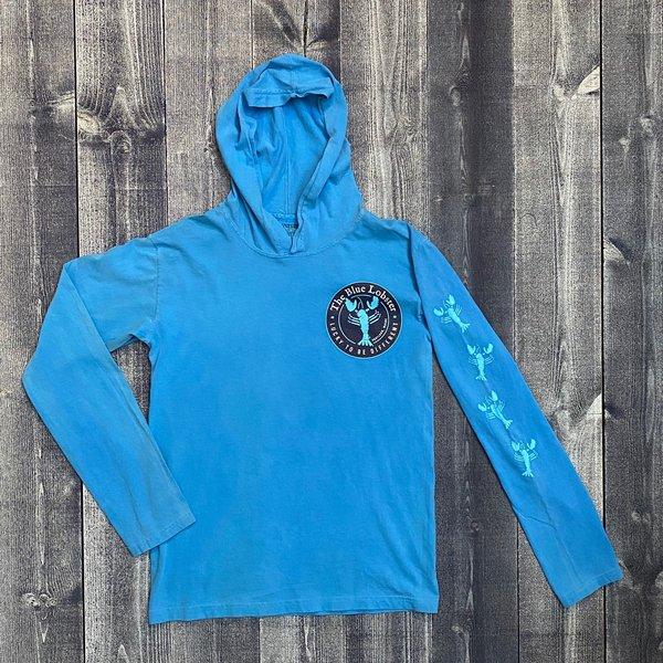 ITS Classics The Blue Lobster Willard Longsleeve Hooded T-shirt