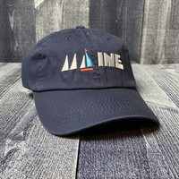 Maine Scene Maine Sail Baseball Hat