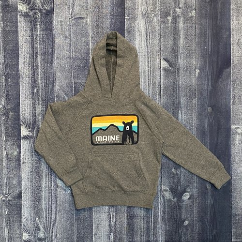 Bumwraps Sunset Bear Youth Hoodie