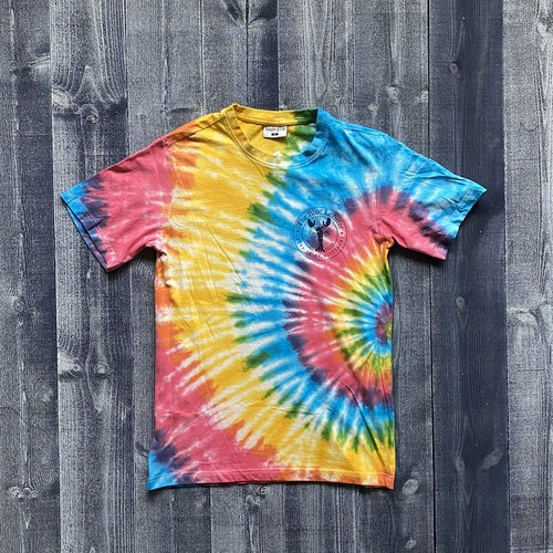 Fundy The Blue Lobster Rainbow Tye Dye T-Shirt