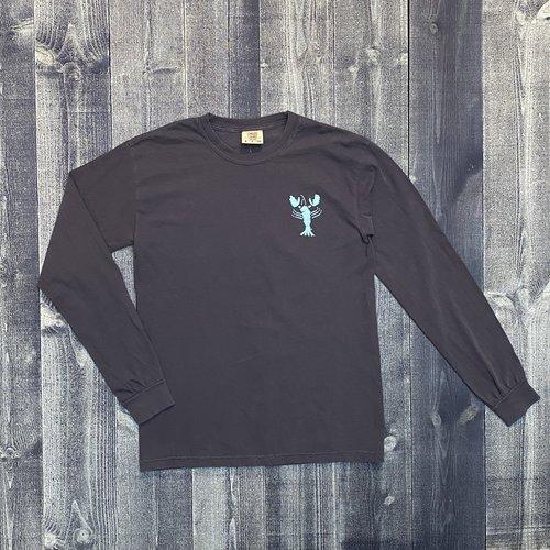 Coed The Blue Lobster Longsleeve T-shirt- True Navy