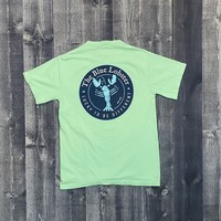 Coed The Blue Lobster Maine Pocket T-shirt- Reef