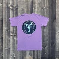 Coed The Blue Lobster Maine Pocket T-shirt-Violet
