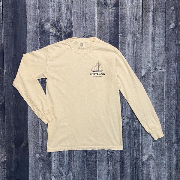Austins Blueprint Schooner Longsleeve T-shirt