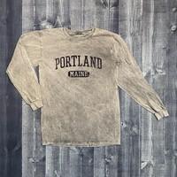 GREEN STREET Stonewash Longsleeve T-shirt