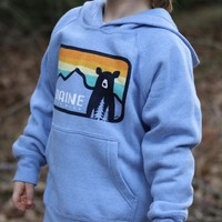 Bumwraps Sunset Bear Youth Hoodie