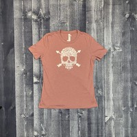 Bumwraps Ladies Wild Skull T-shirt
