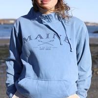Austins Maine Cadet Collar Sweatshirt