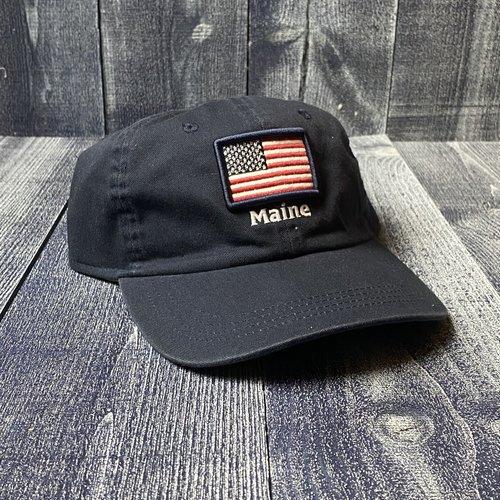 AHEAD American Flag Maine Hat