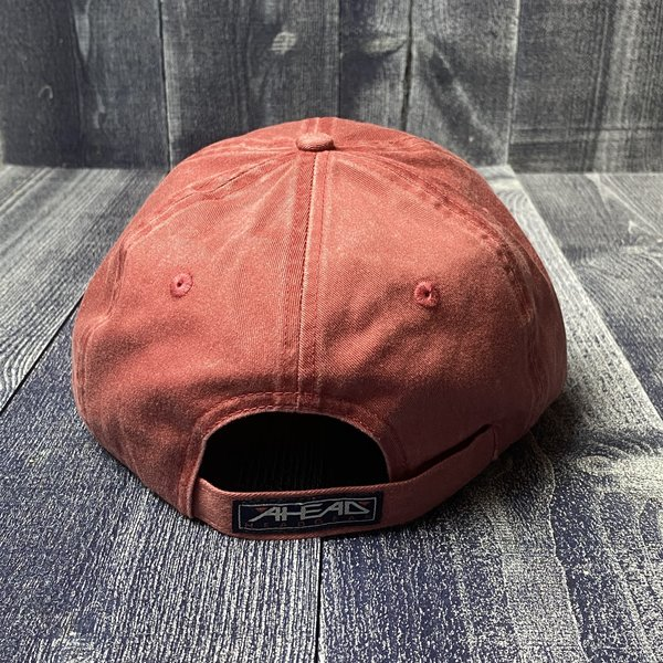 AHEAD Circle Patch American Flag Hat