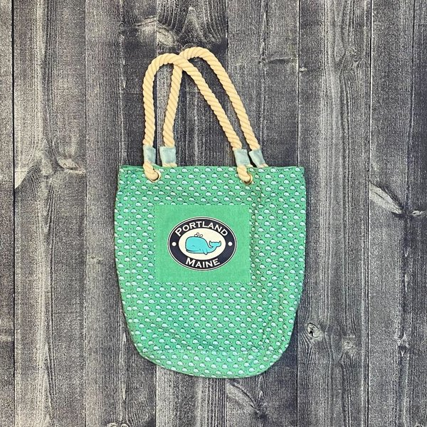 Get A Gadget Repeat Whale Tote