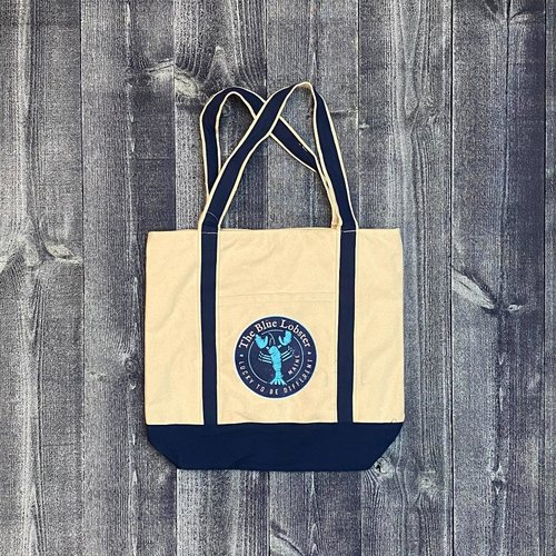Get A Gadget The Blue Lobster Navy Canvas Tote