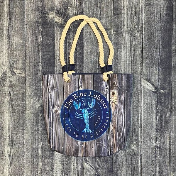 Get A Gadget The Blue Lobster Barnboard Bag