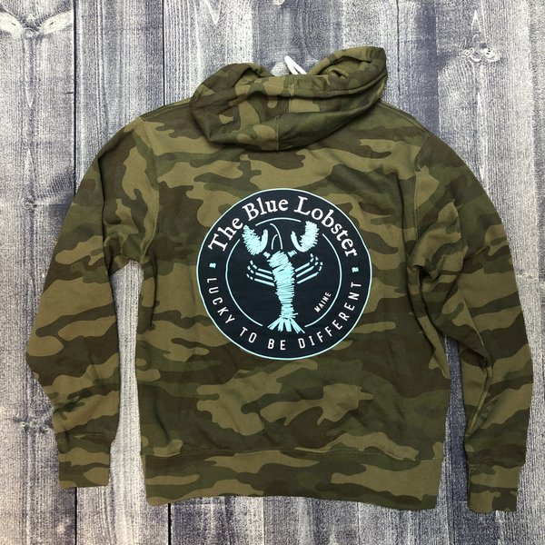 Coed The Blue Lobster Camo Hoodie