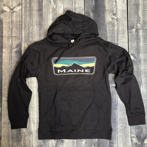 Bumwraps Maine Mountain Candy Stripe Hoodie
