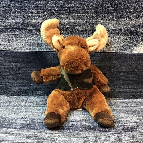 Douglas Toy Camo Vest Moose
