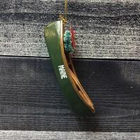 Chesapeake Bay Canoe Christmas Ornament