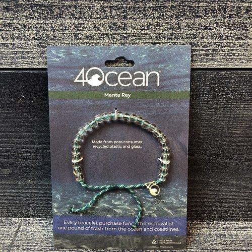 4 Ocean Manta Ray 4 Ocean Bracelet