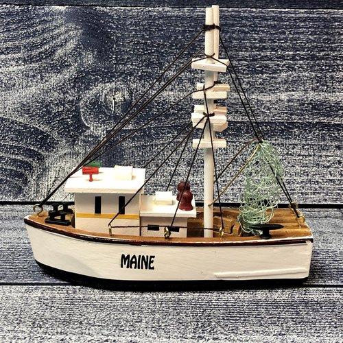 Chesapeake Bay Shrimp Boat 6 1/4 Inch