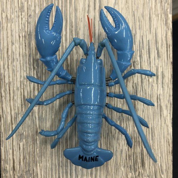 Maine Scene 877932-Magnet-Blue Wiggle Lobster