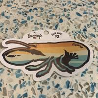 Bumwraps Lobsta-Sticker